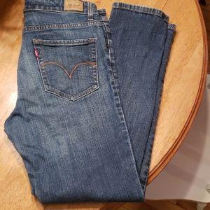 Levi's original Mid rise Skinny jeans in EUC